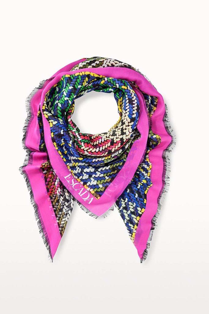 Escada Silk Printed Scarf $425_1