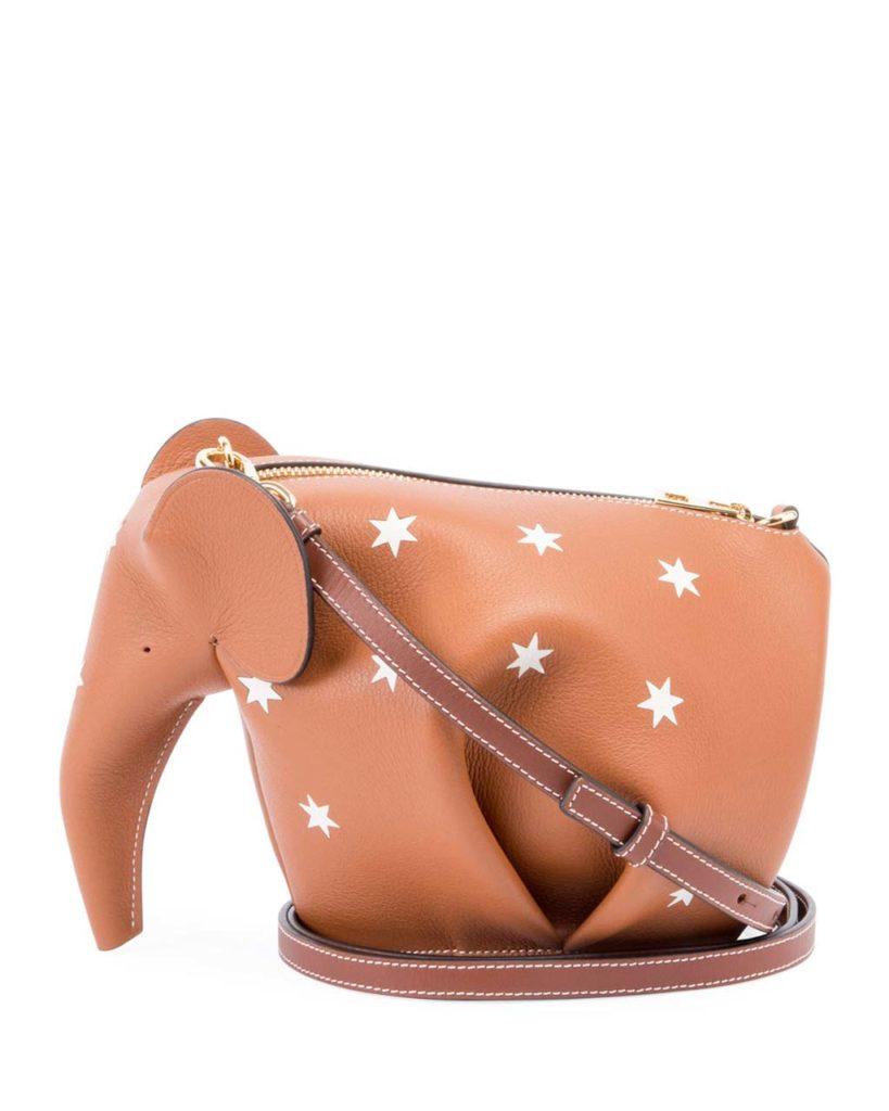 Loewe Elephant Stars Mini Bag