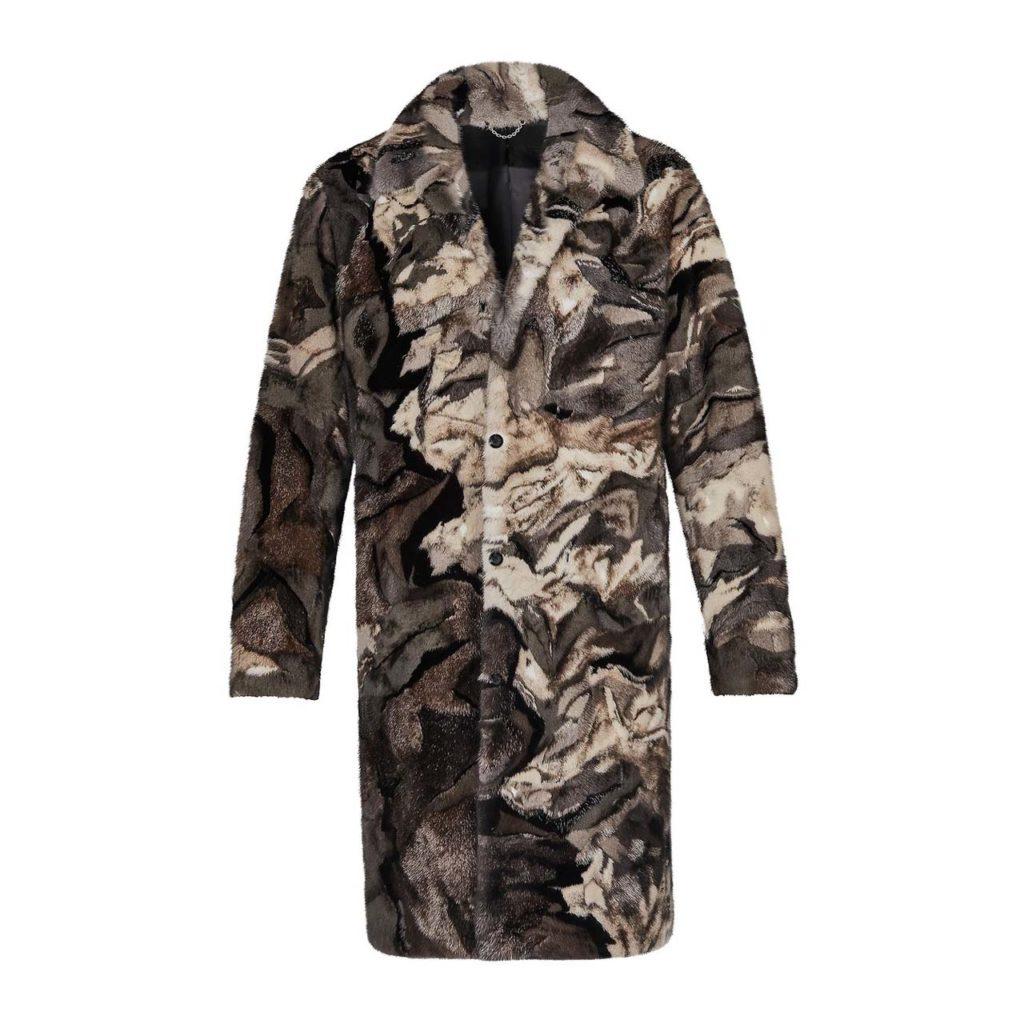 Louis VuittonLandscape Fur Coat $56,000