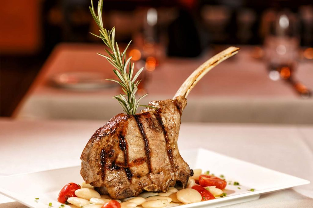 Marco Polo-Grilled Veal Chop