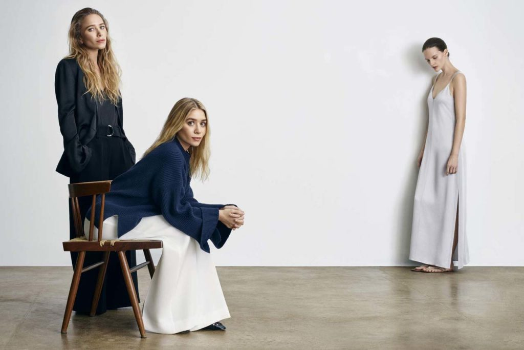 Mary Kate and Ashley Designers THe Row (netaporter.com)