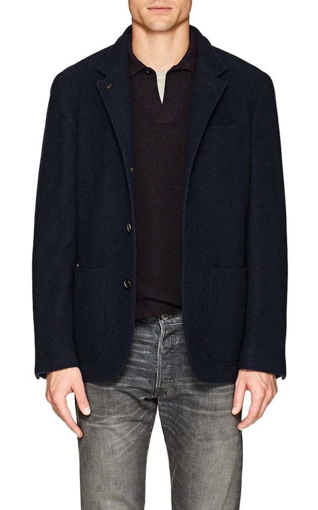 Brunello Cucinelli Wool Flannel Jacket_1