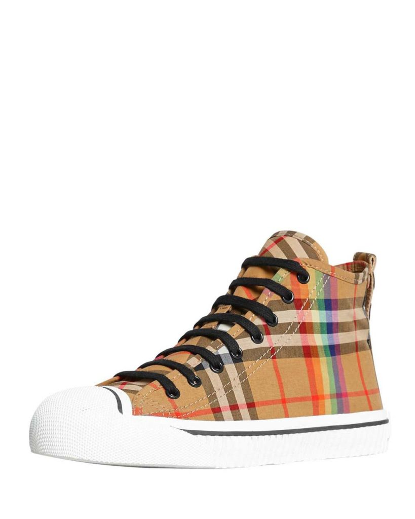 Burberry Men_s Kingly High-Top Sneakers