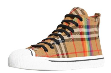 Burberry Men_s Kingly High-Top Sneakers