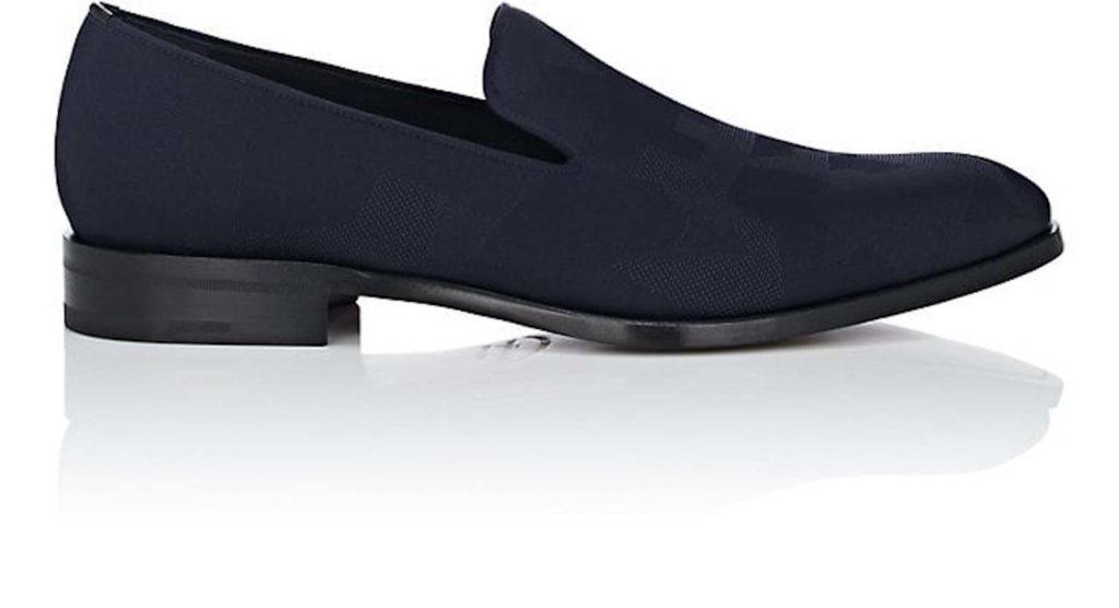 Salvatore Ferragamo Class Jacquard Venetian Loafers