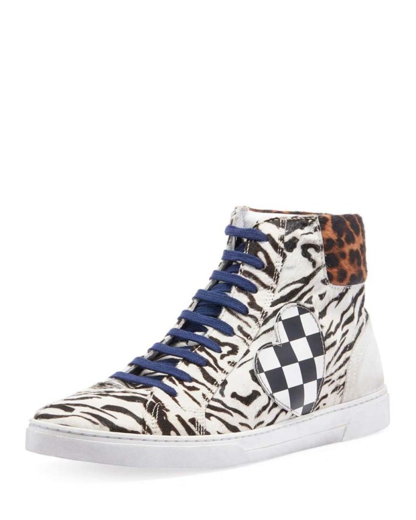 Sidebar - saint-laurent-ANIMAL-PRINT-Mens-Joe-Chess-Animal-print-Leather-High-top-Sneakers