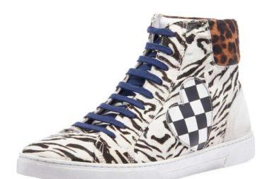 Sidebar - saint-laurent-ANIMAL-PRINT-Mens-Joe-Chess-Animal-print-Leather-High-top-Sneakers
