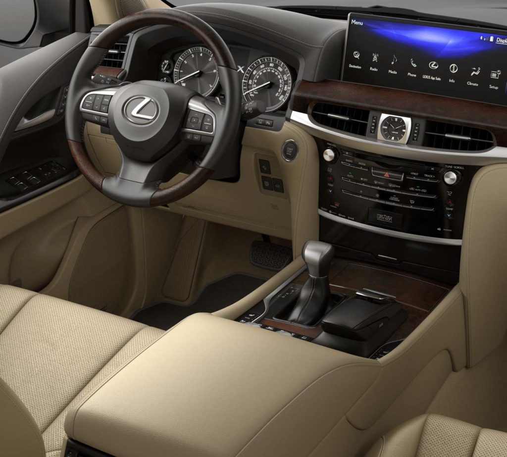 2019 Lexus LX 570 Review and Specs