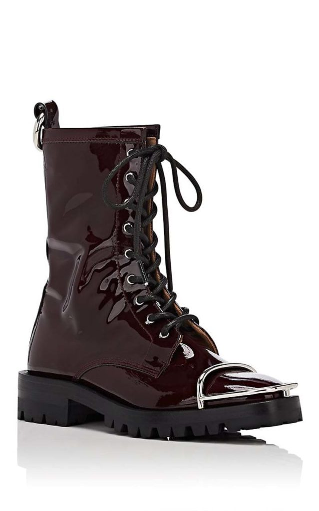 Alexander Wang Kennah Patent Leather Ankle Boots