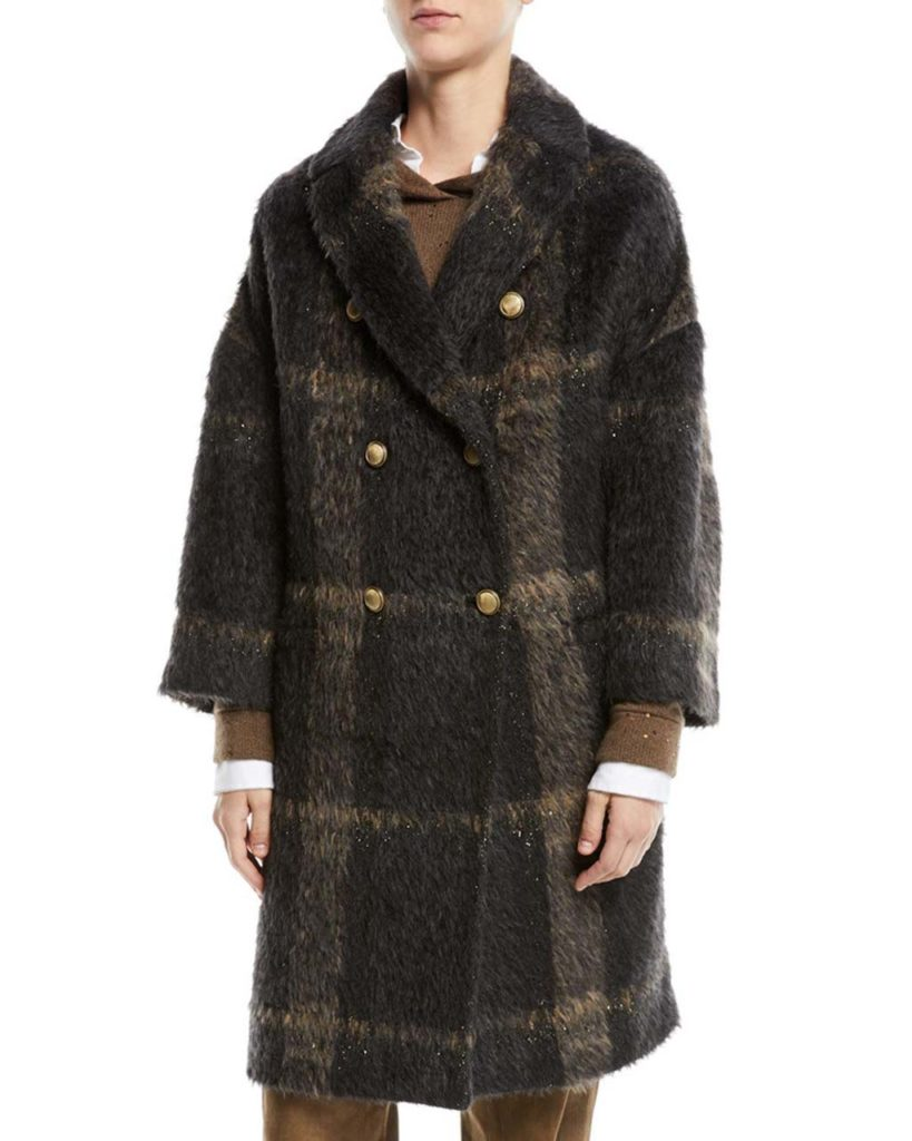 Brunello Cucinelli Alpaca Wool Coat