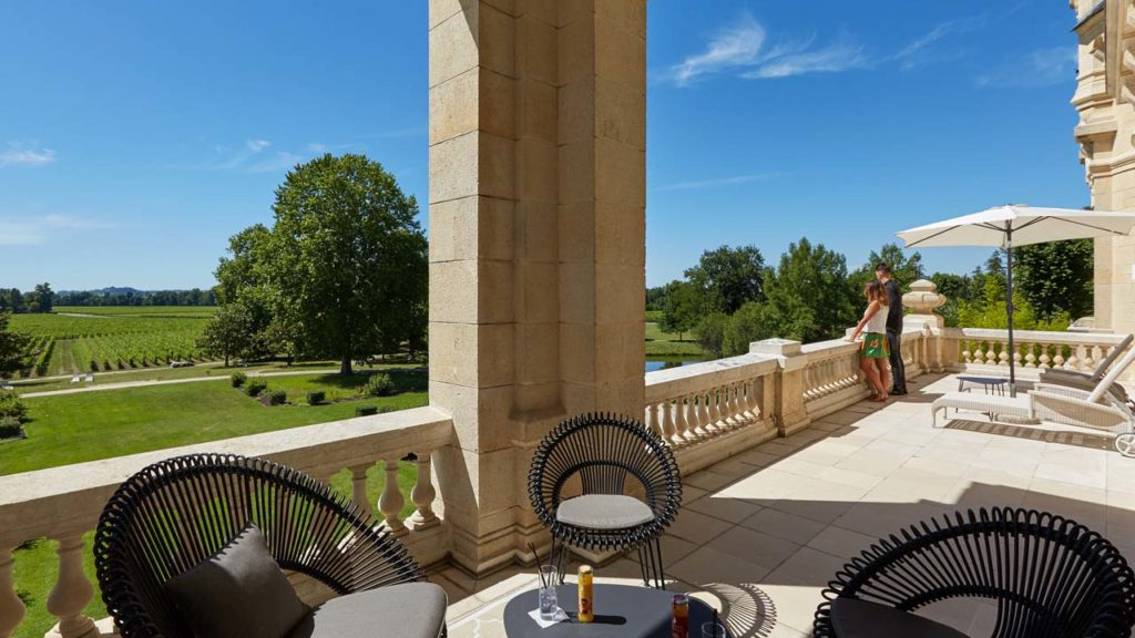 Château Grand Barrail -Royal Suite Terrace