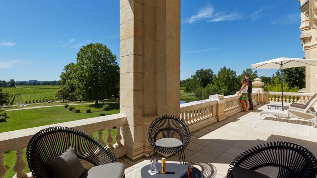 Château Grand Barrail -Royal Suite Terrace