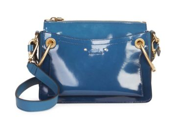 Chloé Small Roy Gusset Glossy Leather Bag