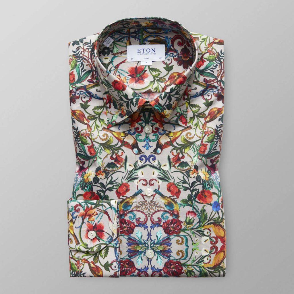 Eton Print Shirt $285 _1