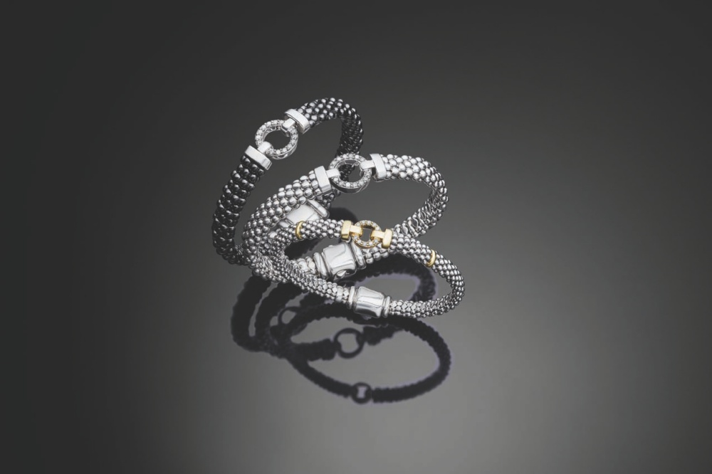 F18_Black_Caviar_Two_Tone_Silver_Enso_Diamonds_Bracelets