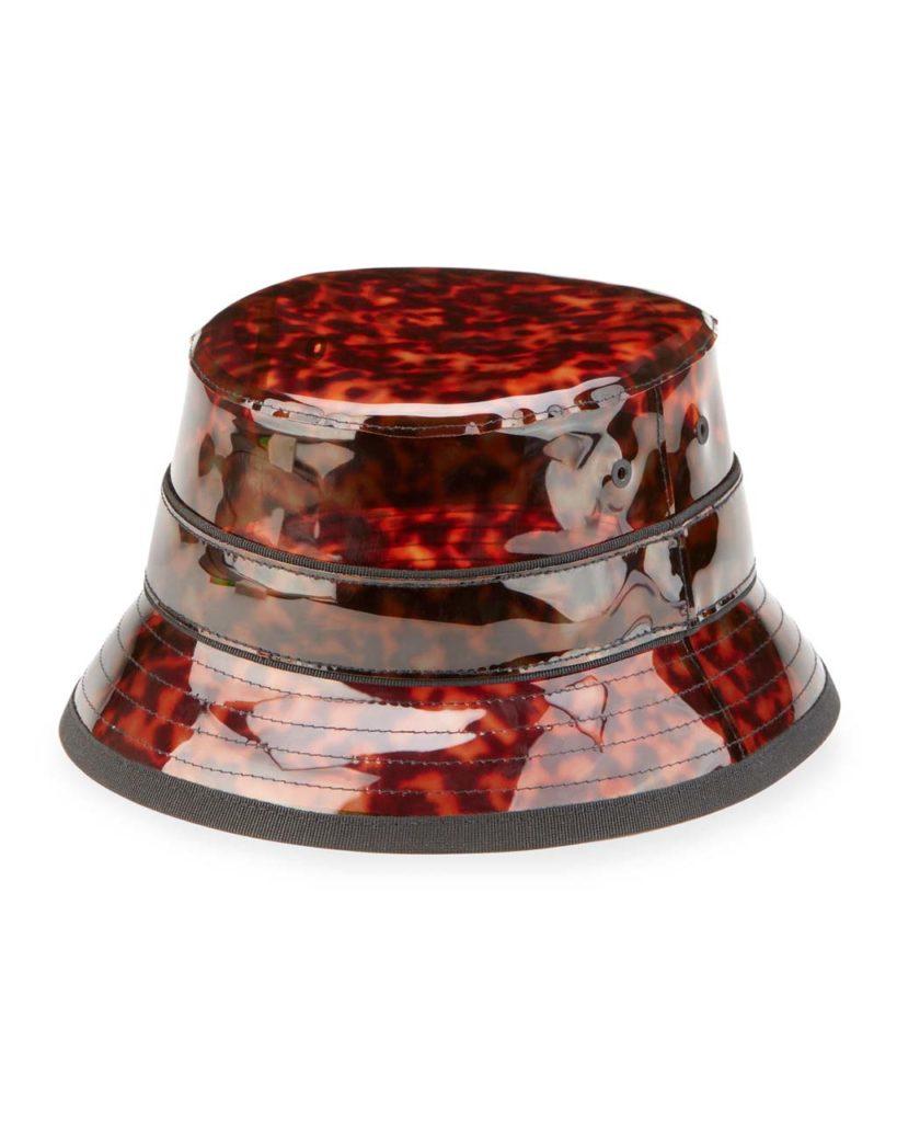 Givenchy Tortoise Vinyl Camper Hat