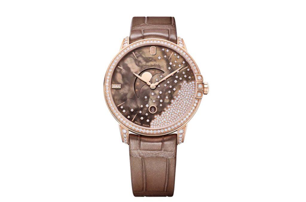 Harry Winston Midnight Chocolate Diamond Drops $30,200