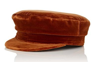 Janessa Leone Mattie Cotton Velvet Fisherman Cap $260