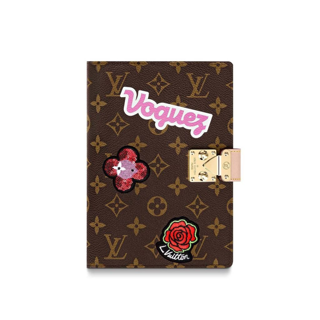 LV Notebook Cover