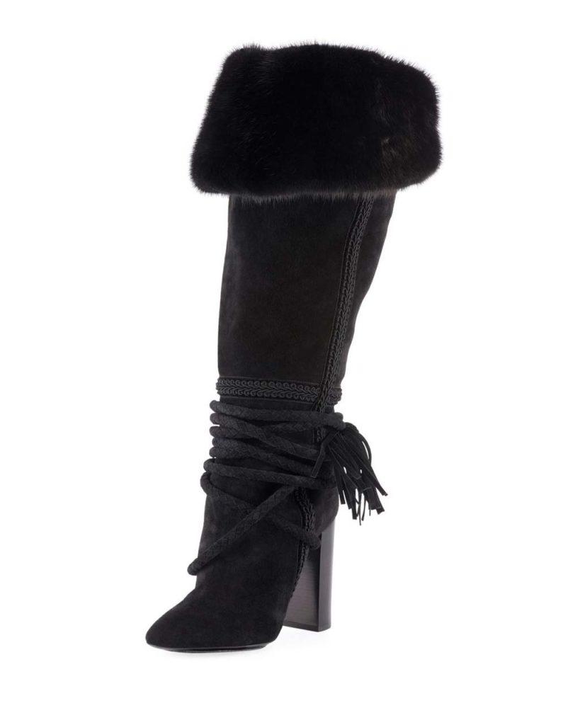 Saint Laurent Meurice Boots $10,000