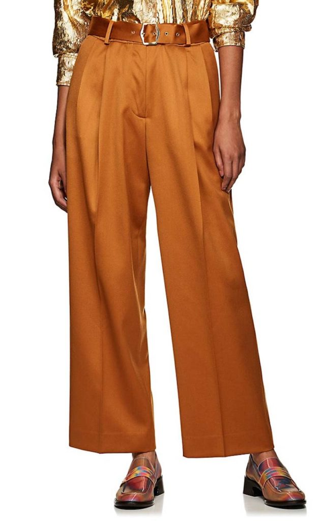 Sies Marjan Wool Wide-Leg Trousers