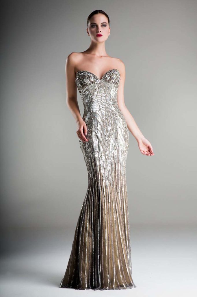 Stephen Yearick Evening Gown _1
