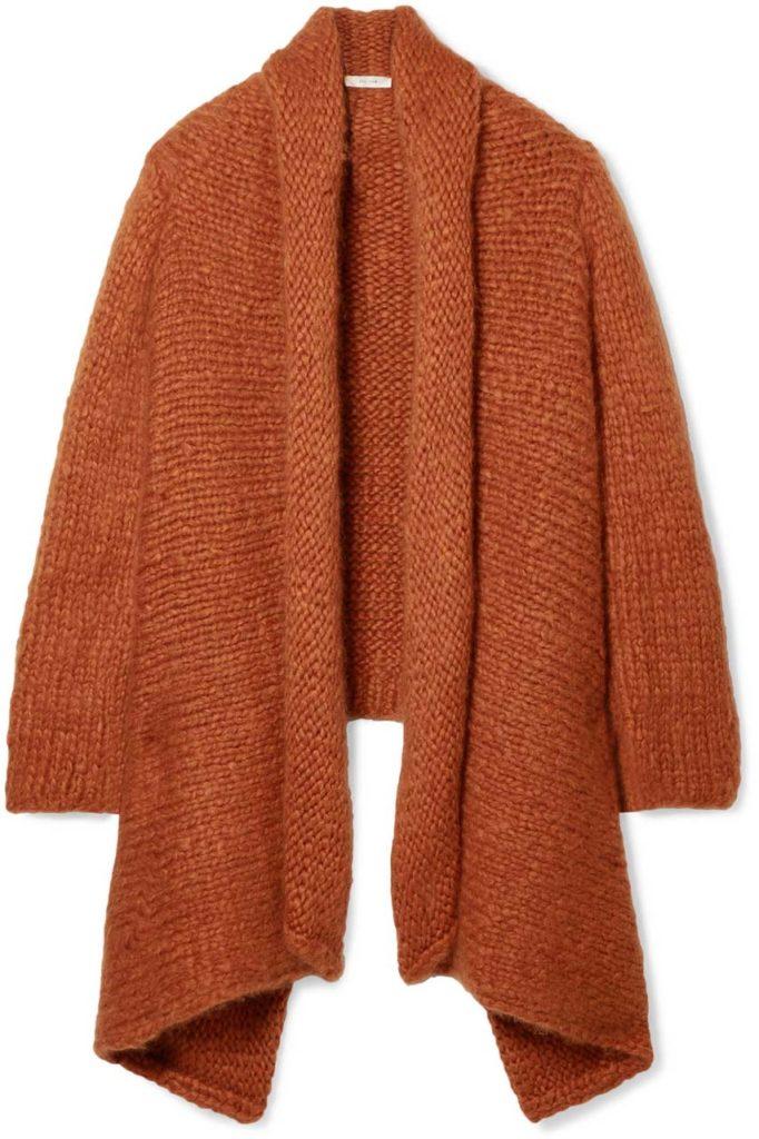 THE ROW Kaylin oversized asymmetric cashmere cardigan $5,690