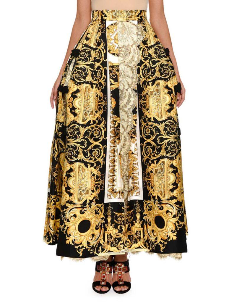 Versace Baroque Skirt $9,725