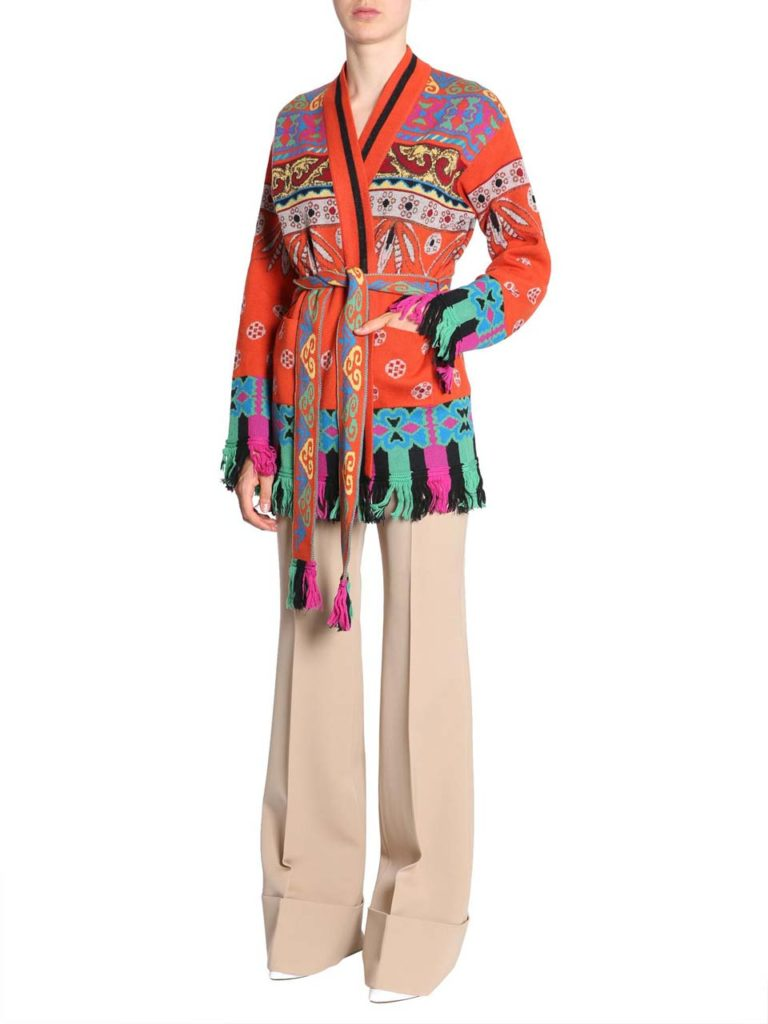 etro-ORANGE-Jacquard-Wool-Cardigan