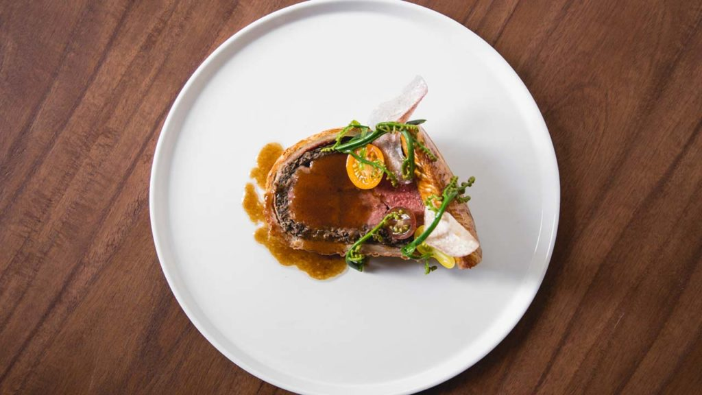 DINE AND DRINK -Senia-Ryan Yamamoto-Middle Management-Wild venison-The chefs rely on delicate loin in place of filet mignon