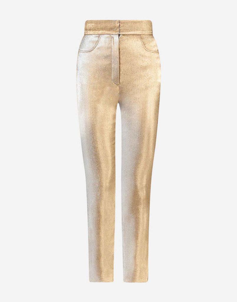Dolce & Gabbana Lame Pants $875_1