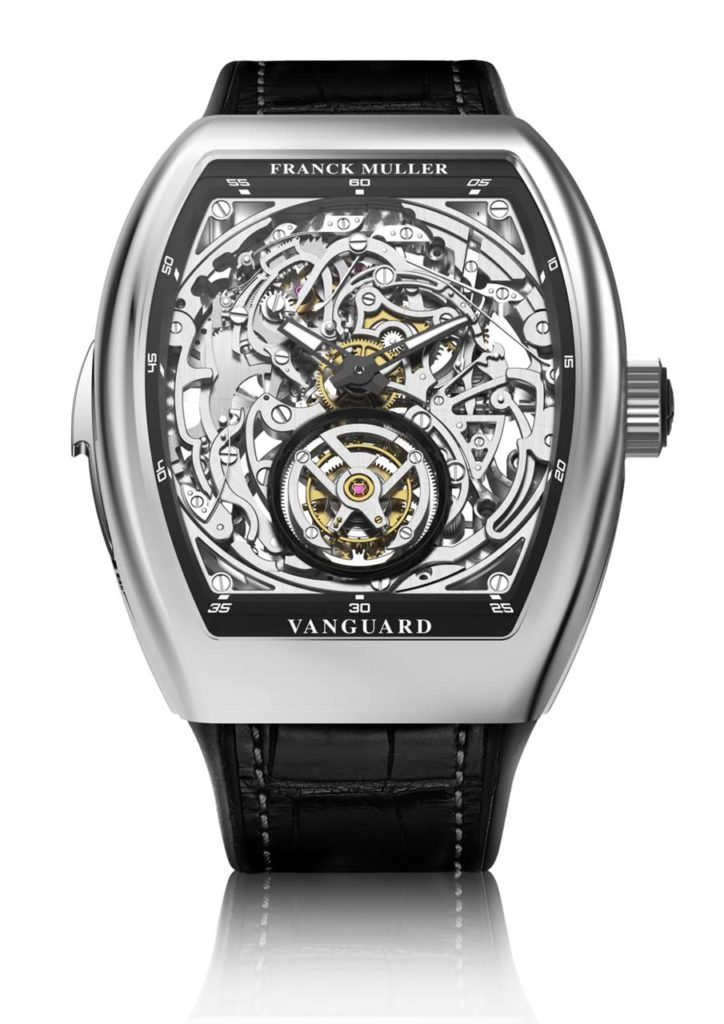 Franck Muller TOURBILLON MINUTE REPEATER SKELETON_Maserati
