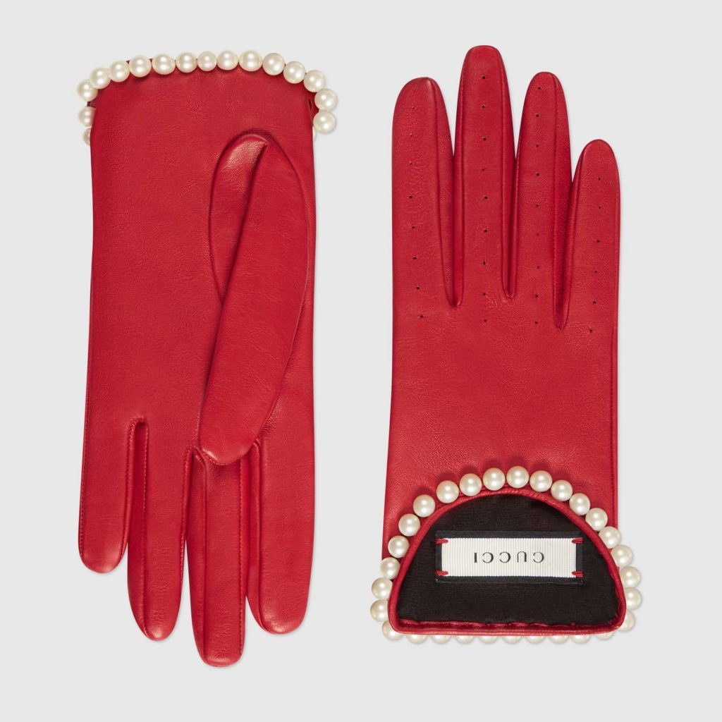 Gucci Leather Gloves $1,440