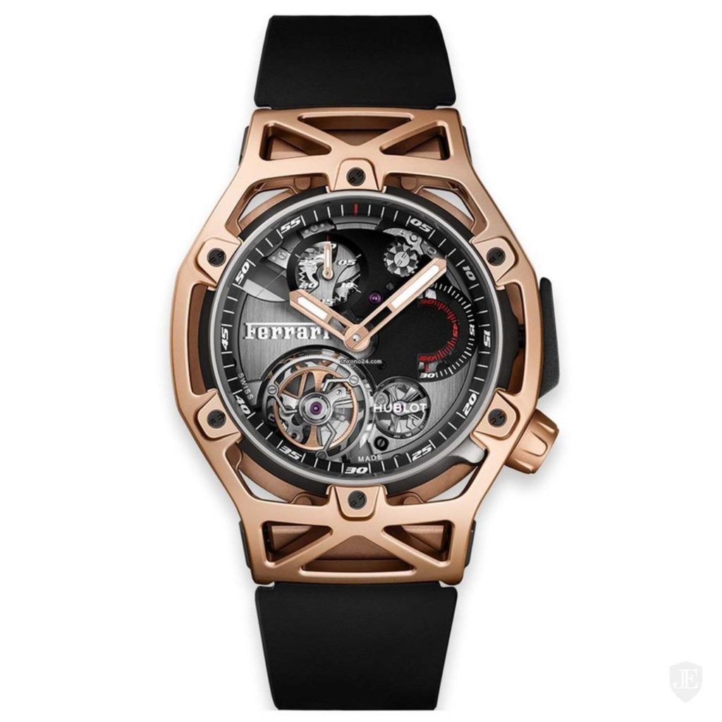 HUBLOT TECHFRAME FERRARI TOURBILLON CHRONOGRAPH KING GOLD_FERRARI