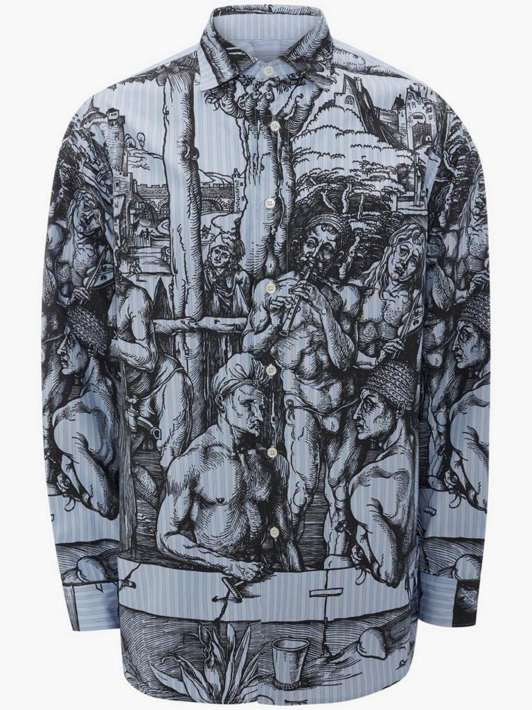 JW Anderson Printed Shirt $650_1