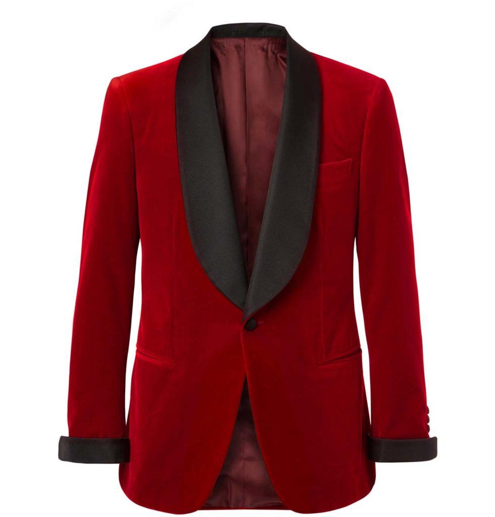 Kingsman Velvet Tuxedo Jacket