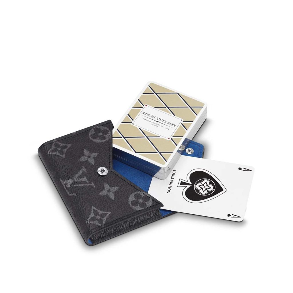 Louis Vuitton Playing Cards and Pouch