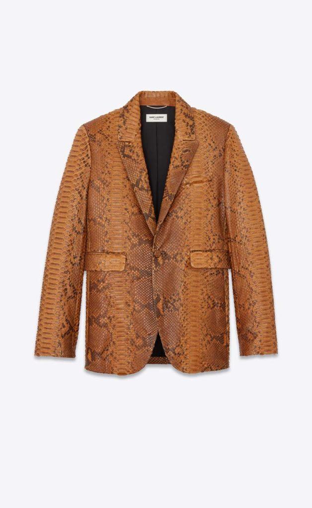 YSL Python Suit Jacket