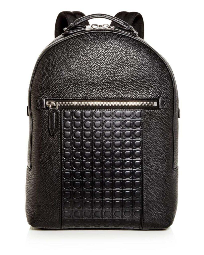 ferragamo-Nero-Firenze-Gamma-Embossed-Leather-Backpack