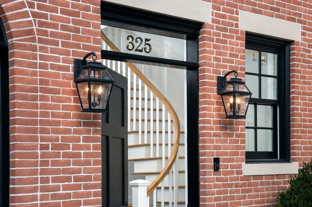325 Pacific Door and stair