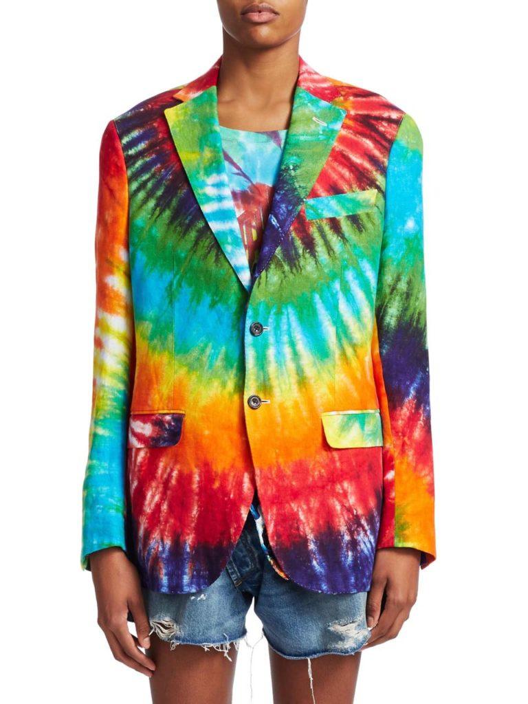R13 Tie Dye Boyfriend Blazer_1