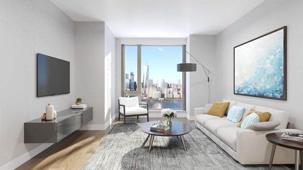 99 Hudson Living Room