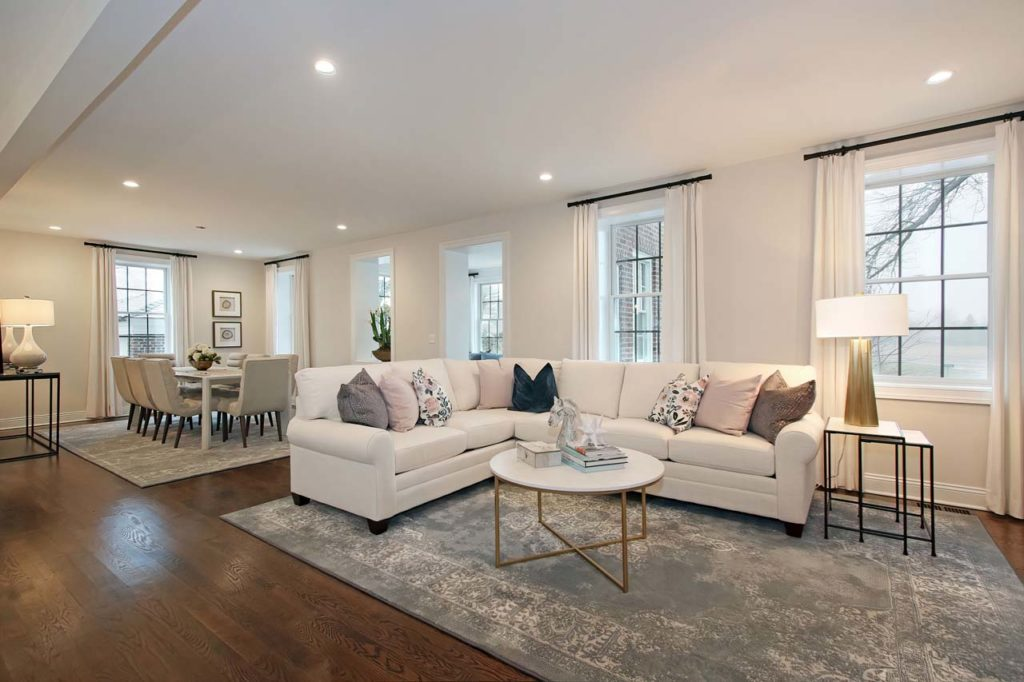East Gate Duplex Living Room B