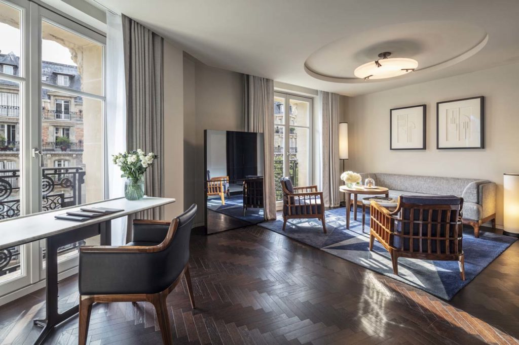 Hotel Lutetia - Suite Lutetia living room