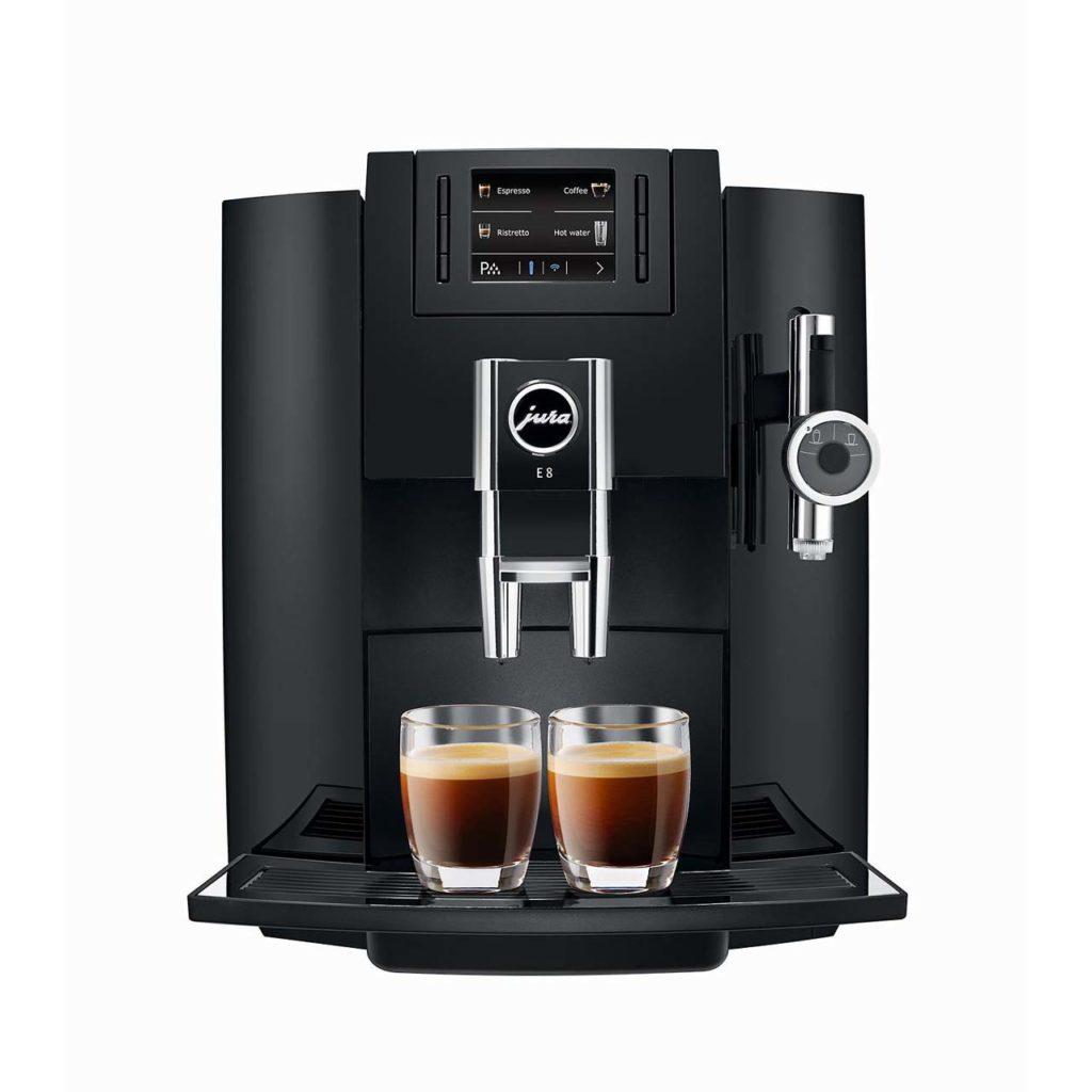 JURA E8 AUTOMATIC COFFEE MACHINE_1