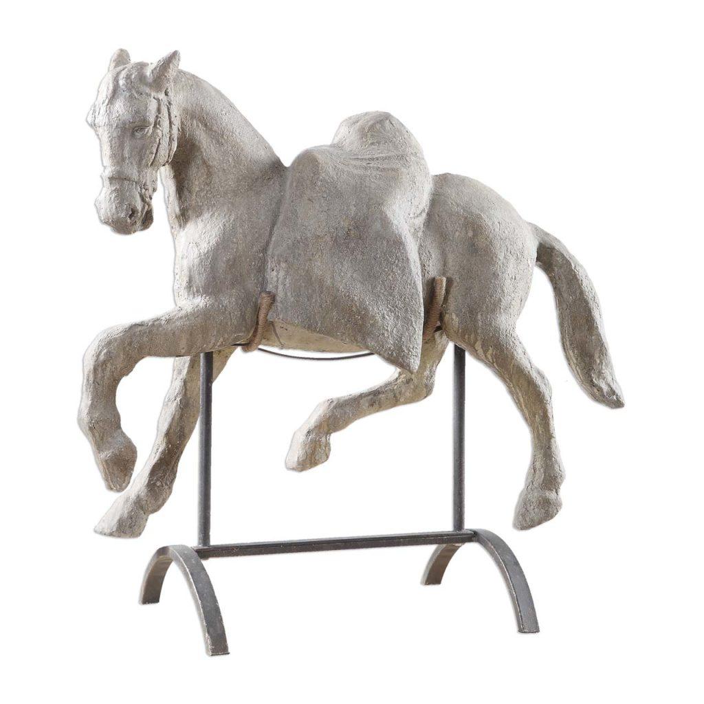 Ladies Lounge Horse Sculpture