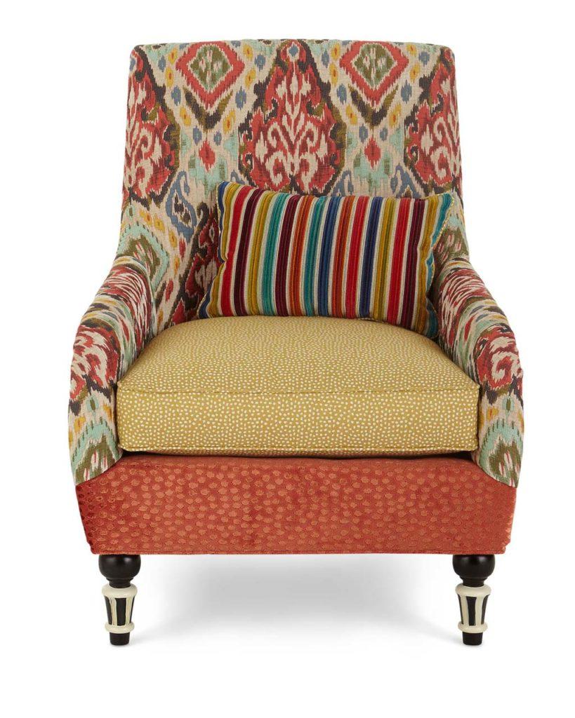 Mackenzie Childs Accent Chair