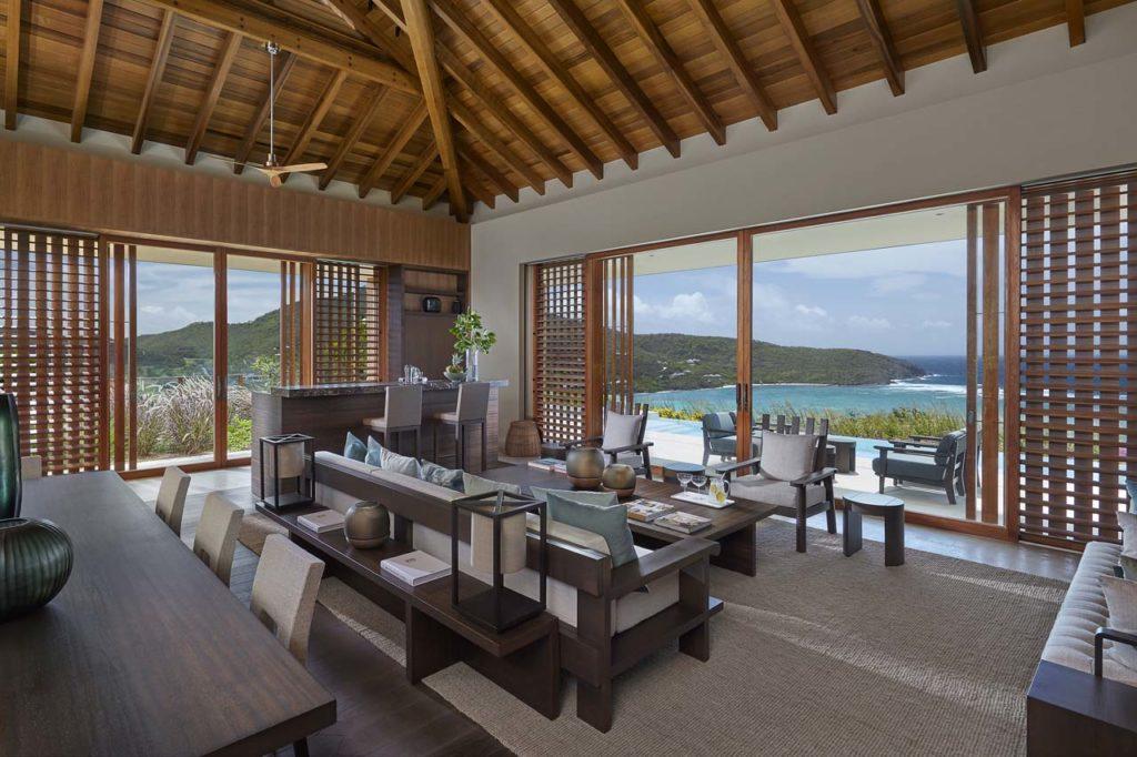 Mandarin Oriental canouan-accommodation-patio-villa-living-dining-room-George Apostolidis