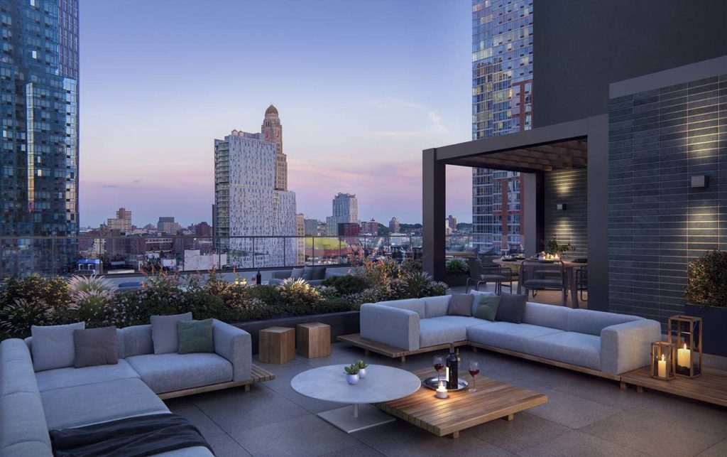 The Brooklyn Grove Rooftop Lounge