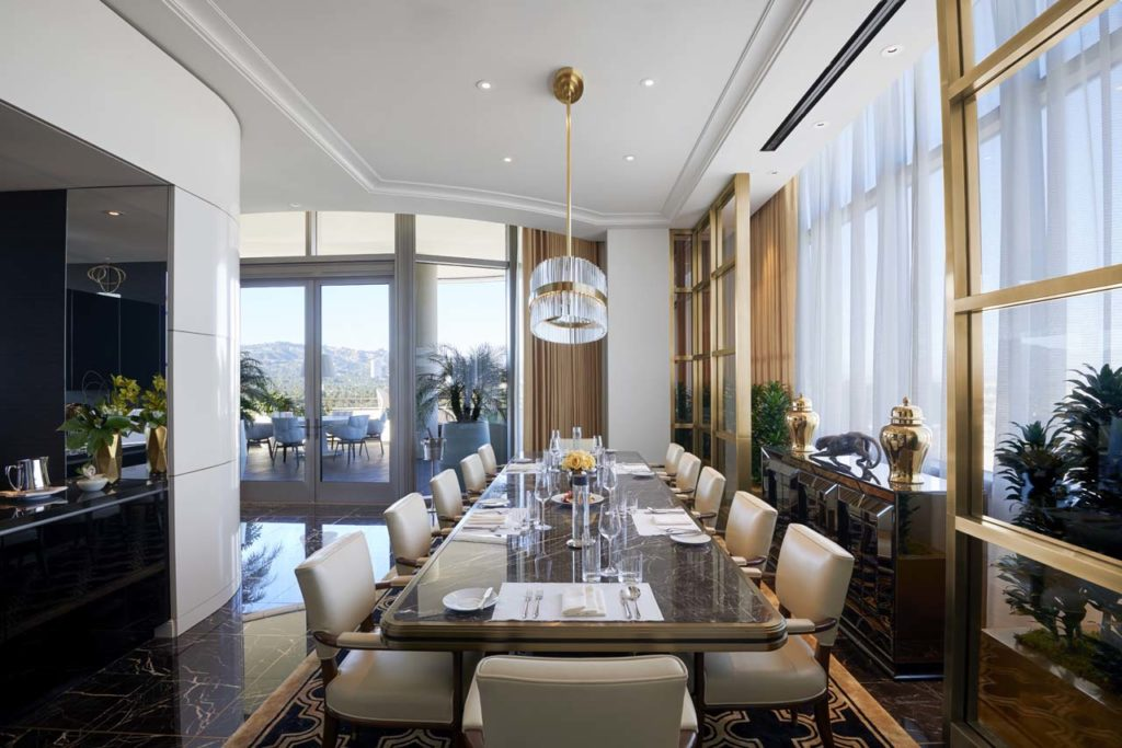 Waldorf Astoria Beverly Hills-Presidential Dining Room